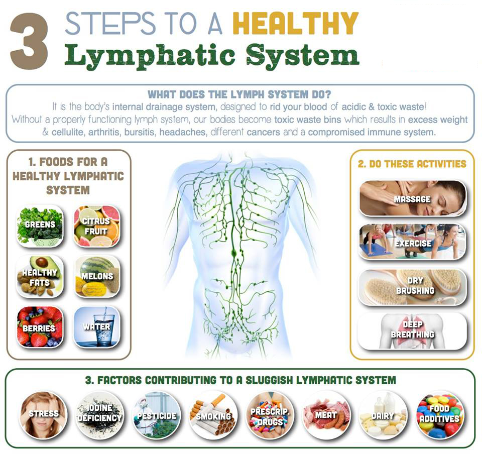 How To Detoxify Your Lymphatic System Ваше Здоровье в