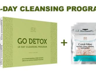 Go Detox 14 Day Cleanse + Coral-Mine (30 sachets)